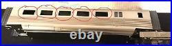 3rd Rail O Scale Brass Pioneer Zephyr 9900 Burlington 4pc Set