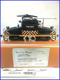 958 Car Works Sacramento Northern GE-ALCO Steeple Cab Brass O Scale 2 Rail Pr 48