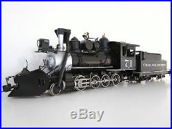 ACCUCRAFT STEAM LOCOMOTIVE G SCALE COLORADO and Southern 2-8-0 #71 Metal