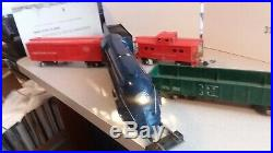 AMAZING 1949 AMERICAN FLYER #350 Royal Blue Engine/Tender S Scale Vintage Train