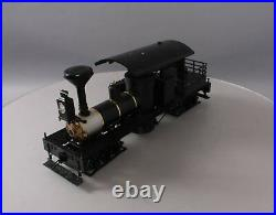 Accucraft AC77-201 120.3 Scale Open Cab Live Steam Shay Locomotive EX