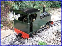 Accucraft Caradoc Live Steam Locomotive 2.4GHz RC SM32 Garden Railway 16mm Scale