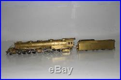 Akane Models Brass Ho Scale B&o 2-8-8-4 Steam Locomotive & Tender, Boxed