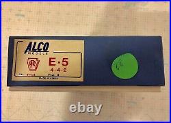 Alco Ho Scale Brass E-5 Unpainted 4-4-2 Prr Locomotive & Tender Cat# S-115