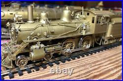Alco Models Ho Scale 4-4-0 Locomotive Brass S121 Ma & Pa