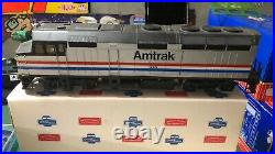 Amtrak Great Trains F40 Turbo Fan Long 1/32 G Scale Engine Super Rare With Box