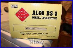Arisocraft G Scale Southern Alco Rs-3 Diesel Locomotive Read Details Below