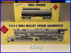 Aristo-Craft G Scale ART-21604 Rio Grande 2-8-8-2 Mallet Steam Locomotive & Tend