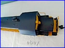 Aristo-Craft SANTA FE U25B DIESEL LOCOMOTIVE 1602 with Custom Hand Rails, G Scale