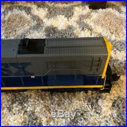 Aristo Craft Trains Train Car 22128 G Scale CSX GE U25B Diesel Locomotive