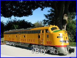 Aristocraft G Scale Emd E-8 Union Pacific Locomotive With Box Rare Excellent
