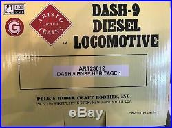 Aristocraft G Scale New Bnsf Dash 9 Heritage 1 Locomotive New In Box