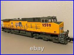 Aristocraft Union Pacific Flag Dash-9 Diesel Locomotive G Scale