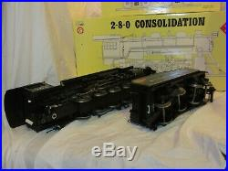 Aristocraft Western Maryland G Scale Consolidation Steam Engine and Tender