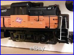 Aristocraft g scale Alco RS-3 Diesel Locomotive MILWAUKEE ROAD DCC Ready