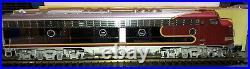 Aristocraft g scale E8 Santa Fe #87 Locomotive Shiny Chrome Version