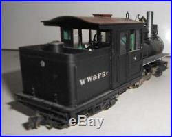 Art Hobbies Train and Trooper WW&F Sn2 Scale Brass Steam Engine