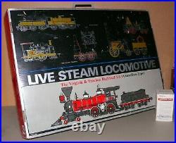 Aster Live Steam Locomotive Virginia & Truckee Railroad Kit 128 Scale