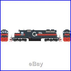 Athearn HO scale SD39 Guilford Boston & Maine Locomotive DCC SOUND ATH64475