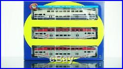 Athearn RTR Caltrain 6 Bombardier Coach & F59PHI Engine DCC with Sound HO scale
