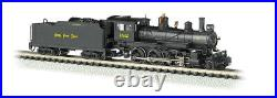 BACHMANN #51459 N SCALE BALDWIN WithDCC 4-6-0 NICKEL PLATE NEW IN BOX