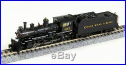 BACHMANN 51460 N SCALE Chesapeake & Ohio 387 BALDWIN 4-6-0 Steam w DCC