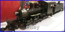 BACHMANN SPECTRUM G Scale Locomotive 81298 Unlettered 2-8-0 Consolidation WithBox