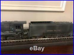 BIG BOY Brass UP 4-8-8-4 Steam Locomotive #4006 withTender O-Scale 2 Rail