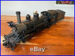 Bachmann G-scale 120.3 K-27 Locomotive #455 Rio Grande