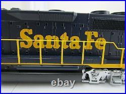 Bachmann HO Scale EMD GP40 Locomotive Train Diesel Santa Fe Flyer DCC