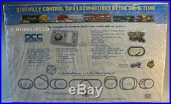 Bachmann Ho Santa Fe Digital Commander Diesel Train Set DCC Gauge 501 00501 New