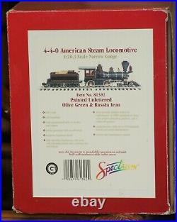 Bachmann Spectrum G Scale 4-4-0 Engine
