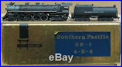 Balboa Scale Models Southern Pacific GS-1 4-8-4 Steam Engine PAINTED HO BRASS #2
