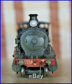 Bergs Brass NSWGR 55 Class Steam Engine 5559 Black HO Scale
