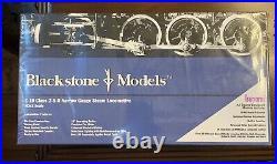 Blackstone Models C-19 Class 2-8-0 Narrow Gauge Steam Locomotive HOn3 Scale