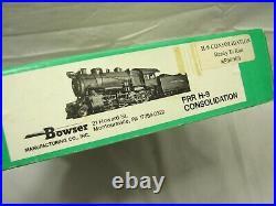 Bowser PRR HO Scale Locomotive 2-8-0 H-9 Consolidation #1444 Train Engine