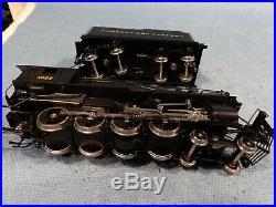 Brass Ho Scale Sunset Models 4-8-0 M-1 N&w Locomotive & Tender