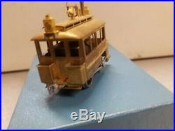 Brass (Japan) 0-4-0 Inspection Box Cab Steam Locomotive, HO Scale