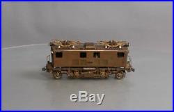 Brass O Scale Box-Cab Electric Locomotive (3 Rail)