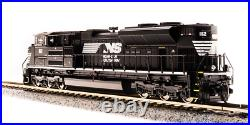 Broadway Limited N SCALE EMD SD70ACe NS #1112 Black with White livery Sound/DC/DCC
