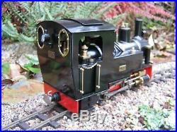 Cheddar Models Riesa Live Steam Locomotive Garden Railway 16mm scale 2.4RC LGB