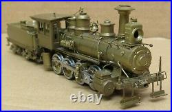 Empire-Midland PRR H1A 2-8-0 (1874) DL-104 Steam Engine BRASS HO-Scale