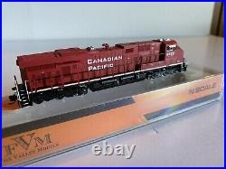 Fox Valley N scale Train ES 44AC Diesel Locomotive Canadian Pacific DCC Equipped