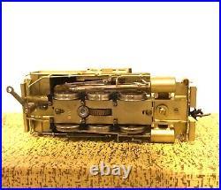 GEM Models HO Scale Brass Reading KT-105 B8a 0-6-0 Locomotive & Camelback Tender