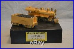 GEM models brass 2-rail O scale Pennsylvania railroad F-3 2-6-0 Locomotive