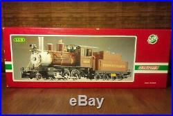 G Scale LGB 2219S PRR Pennsylvania 2-6-0 Mogul Steam Locomotive #2219 NO RESERVE