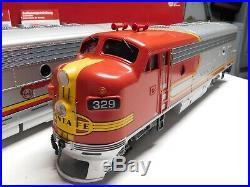 G Scale LGB Santa Fe F7 A&B Diesel Locomotive Set #20570 & #20582 with Sound