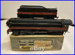 Gem Models /Olympia HO Scale Painted Brass N&W Class J 4-8-4 Engine & Tender 607