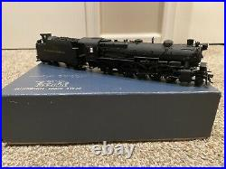 HO PFM United Scale Models Brass Pennsylvania 2-8-2 L-1 Steam Locomotive PRR