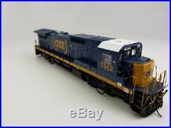 HO Scale Atlas 10002296 CSX Dash 8-40C Diesel Locomotive #7562 with DCC & Sound